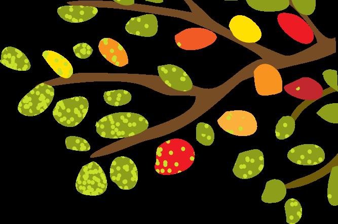 Banner tree branch